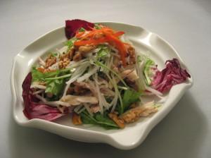 大根と水菜のヘルシーサラダ