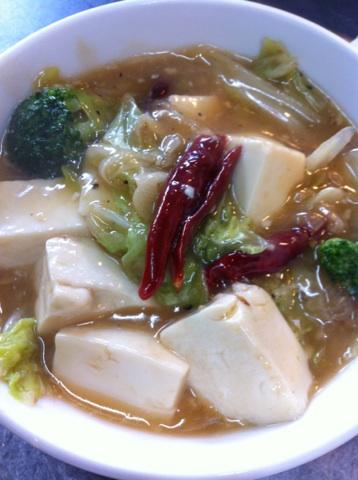 豆腐と白菜の煮込み