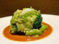 イカのグリーンサラダ