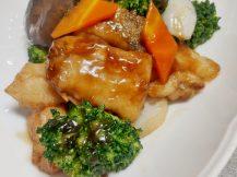 鱈とブロッコリーの炒め北京風